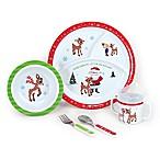 Disney® Rudolph the Red-Nosed Reindeer® 5-Piece Melamine Dish Set