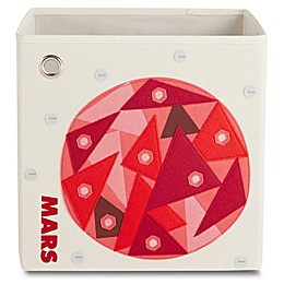 kaikai & ash Mars Kid's Canvas Storage Bin in Red