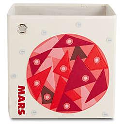 kaikai & ash Mars Kid's Canvas Storage Bin in Red