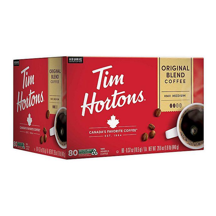 Alternate image 1 for Tim Hortons® Original Blend Coffee Keurig® K-Cup® Pods 80-Count