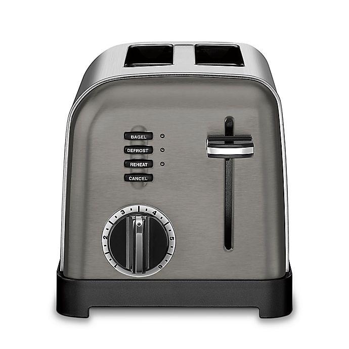 Alternate image 1 for Cuisinart® 2-Slice Stainless Steel Toaster