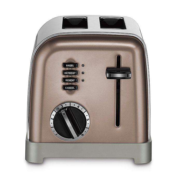 Alternate image 1 for Cuisinart® 2-Slice Stainless Steel Toaster in Umber