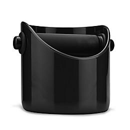 Dreamfarm® Grindenstein Coffee/Espresso Knock Box in Black
