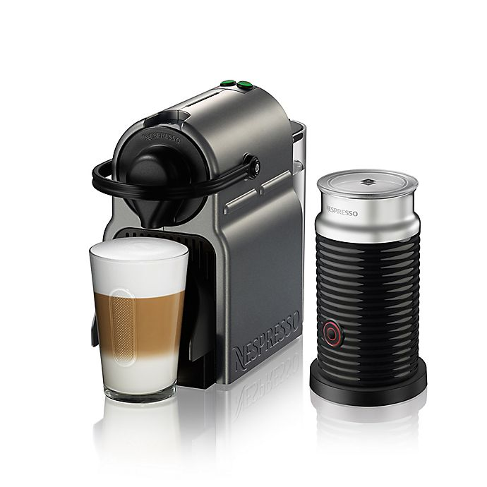 Nespresso 174 By Breville 174 Inissia With Aeroccino Frother In