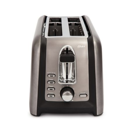 Buy Oster 174 4 Slice Long Slot Toaster In Black Stainless