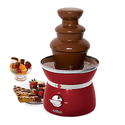 Salton Mini 3-Tier Chocolate Fondue Fountain