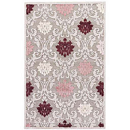 Jaipur Fables Glamour 2-Foot x 3-Foot Area Rug in Grey/Purple