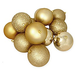 Northlight 12-Pack 4-Inch Christmas Ball Ornaments