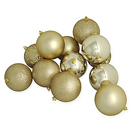 Northlight 12-Pack 4-Inch Shiny Christmas Ball Ornaments
