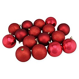 Northlight 16-Pack 3-Inch Christmas Ball Ornaments