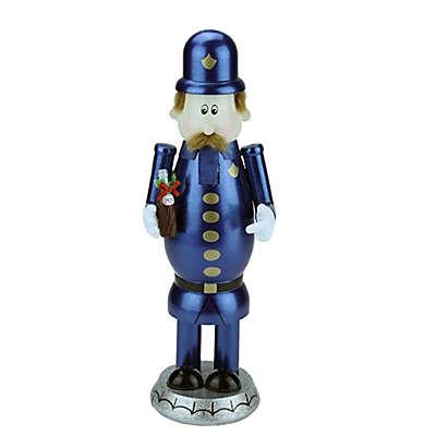 Northlight 12-Inch Pepsi Pete Christmas Nutcracker in Blue