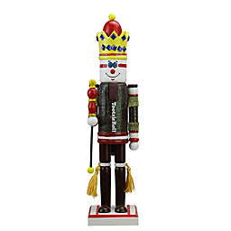 Northlight 14-Inch TootsieRoll King Christmas Nutcracker in Brown/Red