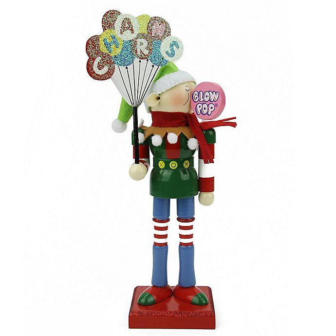 Alternate image 1 for Northlight 11-Inch Charms Blow Pop Elf Christmas Nutcracker