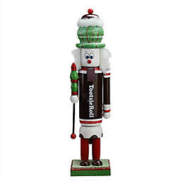 Northlight 14-Inch TootsieRoll Christmas Nutcracker in Brown/Red/White
