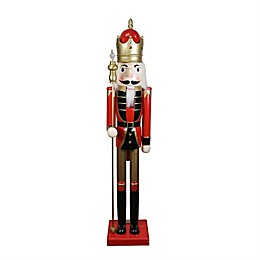 Northlight 5-Foot Traditional Christmas Nutcracker Soldier in Red