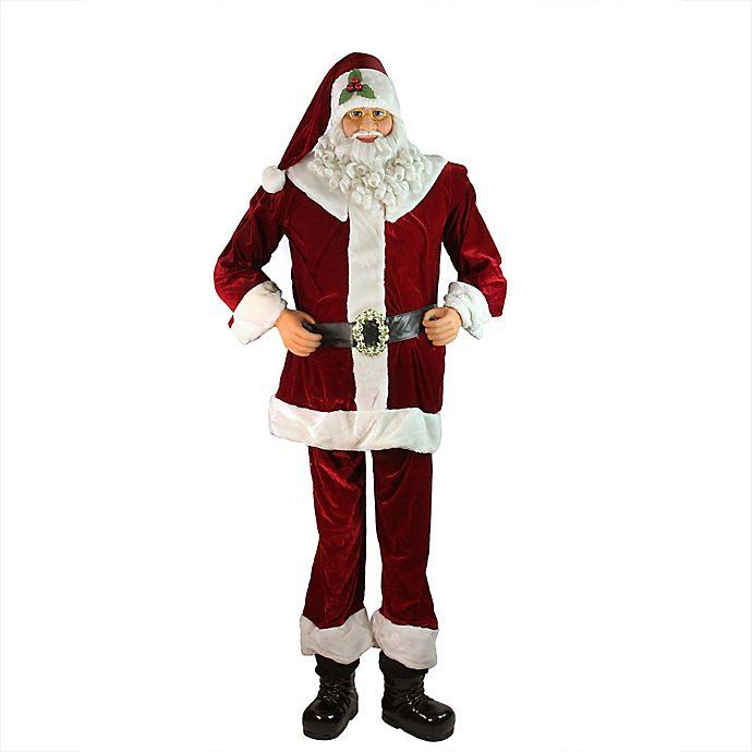 Alternate image 1 for Northlight 6-Foot Life-Size Decorative Santa Claus Figure