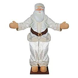 Vickerman 6-Foot Life-Size Velvet Santa Claus Figure