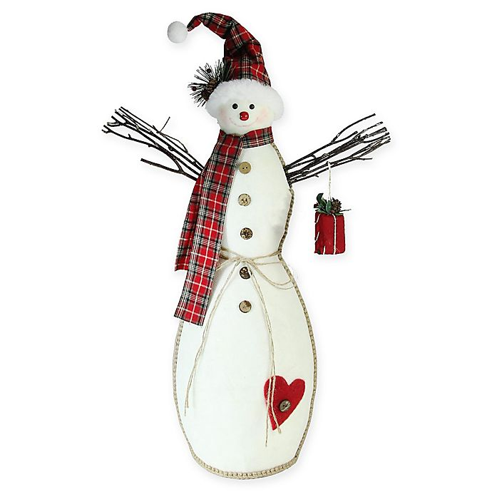 Alternate image 1 for Northlight 25.5-Inch Snowman Decoration