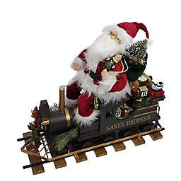 Santa Express Train Christmas Figurine