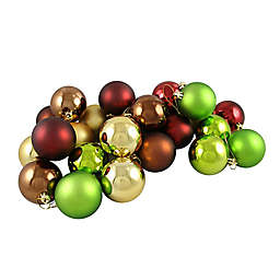 Northlight 24-Pack Christmas Ball Ornaments