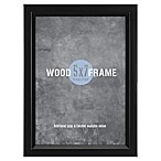 Gallery 5-Inch x 7-Inch Wood Frame in Black
