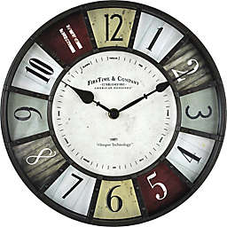 FirsTime® Dawson Wall Clock in Oil Rubbed Bronze