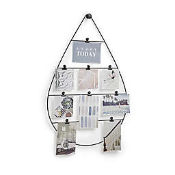 Umbra Droplet 8-Photo Collage Clip Picture Frame in Black