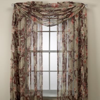Croscill 174 Brazil Window Panels And Scarf Valance Bed