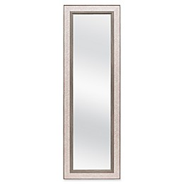 Coral 17.5-Inch x 53.5-Inch Over-the-Door Mirror in Coral
