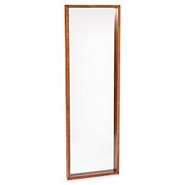Southern Enterprises Jennings Full-Length Floor Mirror in Dark Tobacco