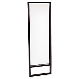 Southern Enterprises Jaxon Full-Length Floor Mirror /Mount Wall Mirror in Ebony Stain