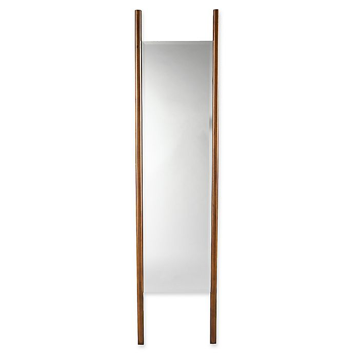 Alternate image 1 for Holly & Martin® Swain Full-Length Floor Mirror /Mount Wall Mirror in Dark Tobacco