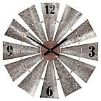 Southern Enterprises Brevan Windmill Wall Clock