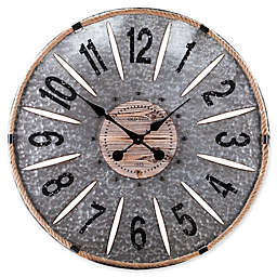 Southern Enterprises Rayornier 36-Inch Round Decorative Oversized Wall Clock