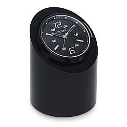 Citizen Workplace Black Crystal Base/Sporty Dial Circular Desk Clock