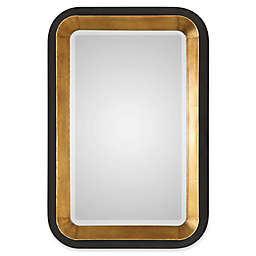 Uttermost Niva 28-Inch x 42-Inch Wall Mirror in Metallic Gold