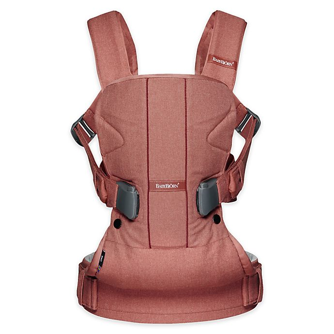 Alternate image 1 for BABYBJÖRN® Carrier One Air Baby Carrier in Terracotta Pink