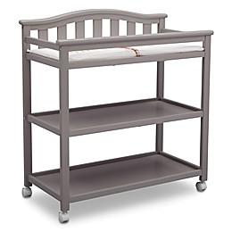 Delta Children Bell Top Changing Table in Grey
