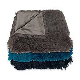 Thro Chubby Faux Fur Throw Blankets