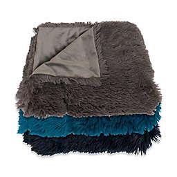 Thro Chubby Faux Fur Throw Blankets