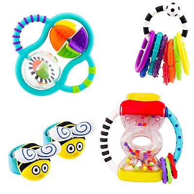 Sassy® My First Rattles Gift Set in Red