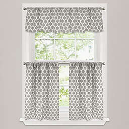 Morocco Window Curtain Panel And Valance