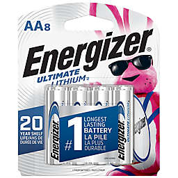 Energizer® Ultimate 8-Pack AA 1.5-Volt Lithium Batteries