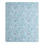 Seashells Indoor/Outdoor Throw Blanket in Blue