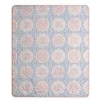 Mona Indoor/Outdoor Throw Blanket in Blush