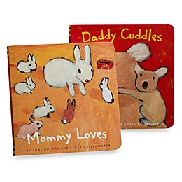 Mommy Loves and Daddy Cuddles Board Books