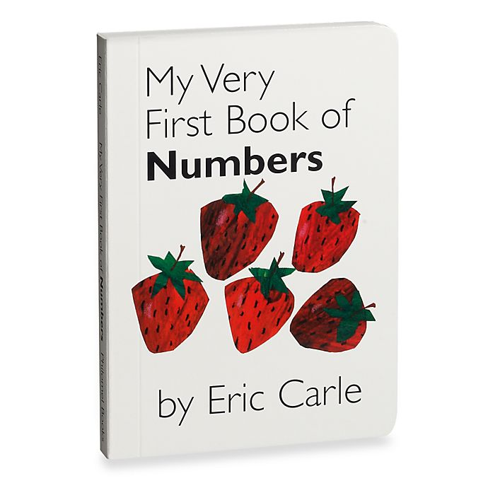 Alternate image 1 for My Very First Book of Numbers by Eric Carle