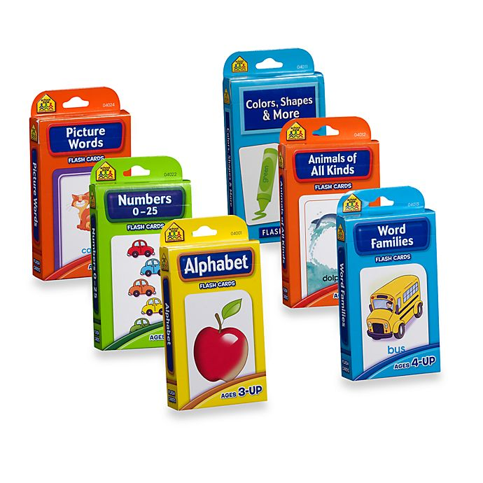 Alternate image 1 for School Zone Publishing Company® Flash Cards