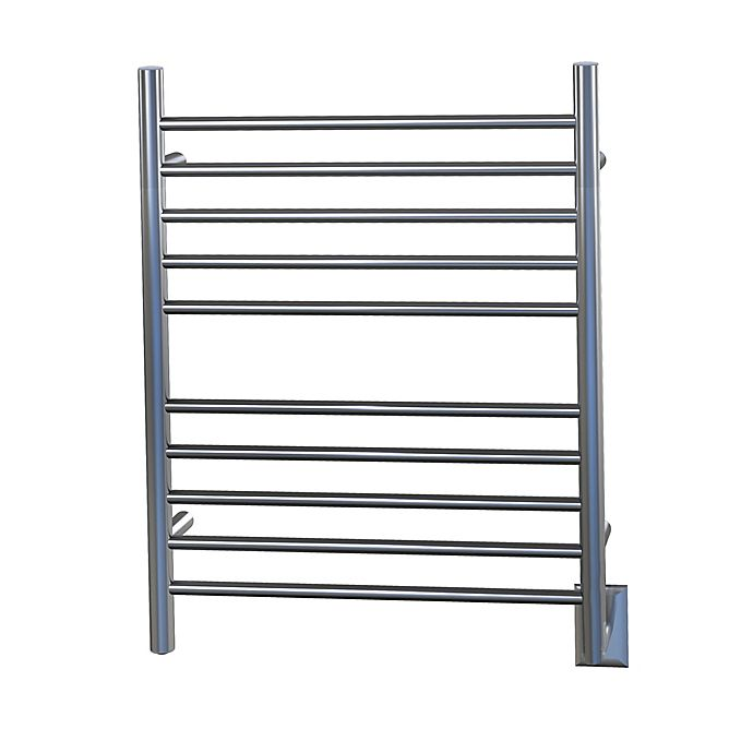 Alternate image 1 for Amba Radiant Wall Mount Hardwired Towel Warmer with Ten Straight Bars