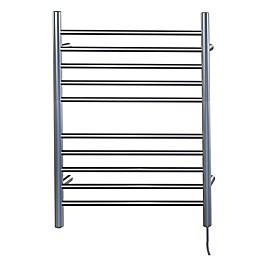 Amba Radiant Wall Mount Plug-In Towel Warmer with Ten Straight Bars